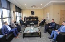 MHP İl Yönetiminden SATSO'ya Ziyaret