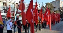 Hendek'te 10 Kasım Atatürk'ü anma törenleri