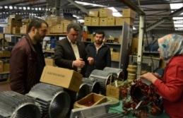 Cumhur İttifakı Belediye Başkan Adayı İshak Sarı TEKTEM çalışanlarını ziyaret etti