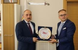 Rumeli Balkan'lardan Erenler Belediyesi'ne ziyaret