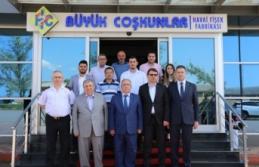Vali Nayir'den Büyük Coşkunlar Havai Fişek Fabrikasına Ziyaret