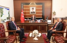 MEB Maarif Müfettişlerinden Vali Nayir'e Ziyaret
