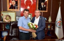 ASKF'den, Başkan İshak Sarı'ya Ziyaret