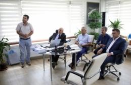 Başkan Sarı'dan SASKİ Genel Müdürü Demirci'ye Ziyaret