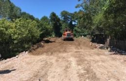 Karasu Belediyesi Ham Yol Açma Çalışmalarına Devam Ediyor