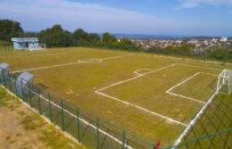 Karşı Mahalle Futbol Sahası açılışa hazır