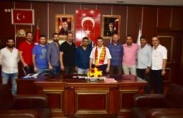 Karasuspor'dan Başkan Sarı'ya Ziyaret