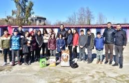 Öğrencilerden, Geçici Hayvan Barınağına Ziyaret