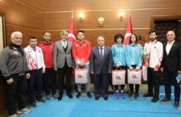 Türkiye Rafting Federasyonu Başkanı Yardımcı'dan Vali Nayir'e Ziyaret