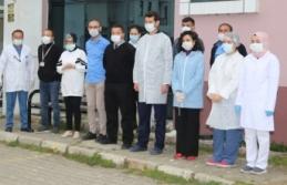 Belediye Çalışanlarından, Sağlıkçılara Alkış