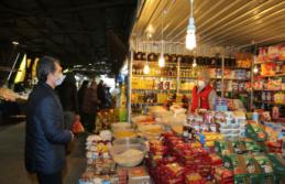 Başkan Acar, pazaryerinde Koronavirüs önlemlerini denetledi