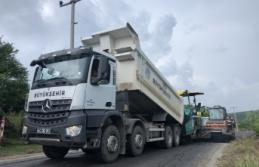 Kocaali'de yollara 11 bin ton asfalt