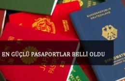 En güçlü pasaportlar belli̇ oldu