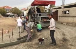 Karasu'da Seri ve Uzun Ömürlü Kaldırım Çalışması