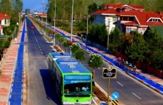 Büyükşehir otobüslerine yeni kamera sistemi