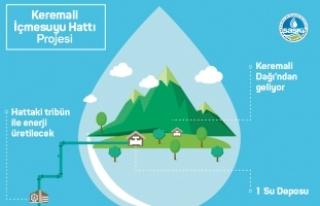 Yeni içmesuyu yatırımıyla enerji de üretilecek