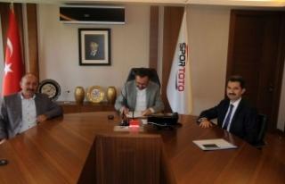 Kocaali Belediyesi Spor Toto ile protokol imzaladı