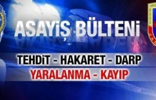 10 Temmuz 2017 Sakarya il Jandarma Asayiş Raporu