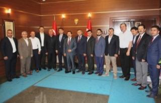 MÜSİAD'tan Vali Balkanlıoğlu'na Ziyaret