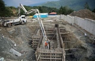 Sapanca'da yeni arıtma tesisi yükseliyor