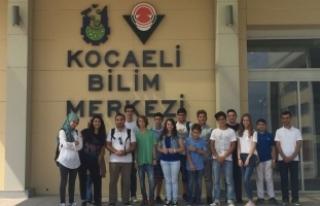 Genç Atölye Bilim Merkezi'nde