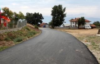 Pamukova'da 7 mahalleye daha sıcak asfalt