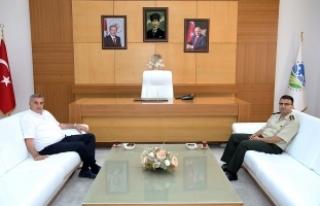 Toçoğlu yeni İl Jandarma Komutanını ağırladı
