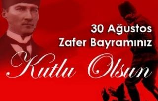 Vali İrfan BALKANLIOĞLU'nun 30 Ağustos Zafer...
