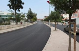 Karaca Sokak ve Maliye Caddesi yenilendi