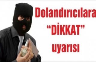 Karasu Belediyesi Dolandırıcılara Karşı Uyardı