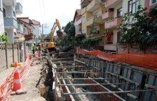 Serdivan'ın yağmursuyu ağı güçleniyor