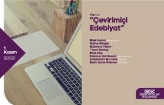 Genç Edebiyatçılar 'Çevrimiçi Edebiyat' panelinde...