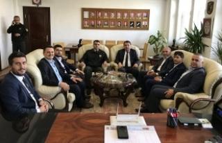 MÜSİAD' dan Sakarya İl Jandarma Alay Komutanı...