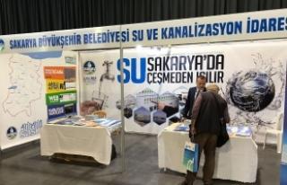 Su ve Su Teknolojileri Fuarı'nda SASKİ'ye yoğun...