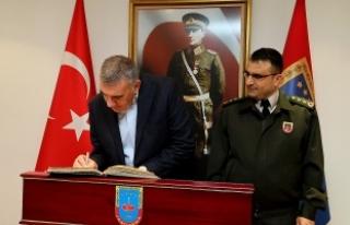 Başkan Toçoğlu Yiğit'e başarılar diledi