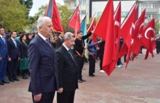 Karasu'da 10 Kasım Atatürk'ü Anma Töreni...