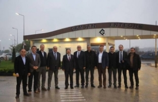 Vali Balkanlıoğlu Ordulu İş Adamlarıyla Hendek...