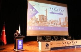 """Vali Balkanlıoğlu """"Uluslararası Sakarya Sempozyumu""""..."""