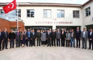 "Vali İrfan Balkanlıoğlu ""Muhtarlar Toplantısı""..."