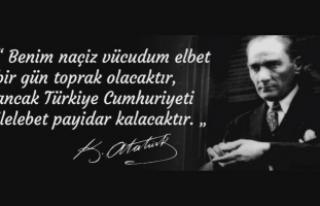 Vali İrfan BALKANLIOĞLU' nun 10 Kasım Atatürk'ü...