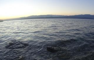 Sapanca Gölü'nde gün doğumu ve gün batımı