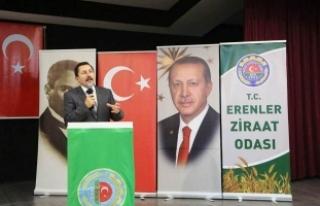 Erenler Ziraat Odası Kongresine Katılan Vali Balkanlıoğlu,...