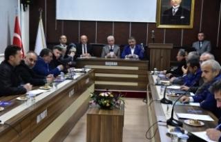 2018 Yılının Kapsamlı İlk Muhtarlar Toplantısı...