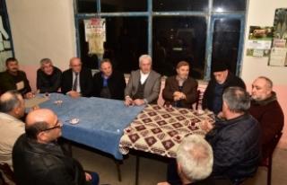 Başkan İspiroğlu Vatandaşlarla Bir Araya Geldi