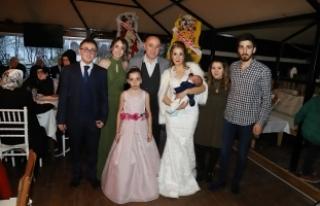 Gazeteci Hamdi Yuluğ ile Leyla Aydemir dünya evine...