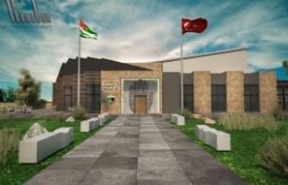 Sakarya Abhaz Derneği, Kültür Merkezi binasına...