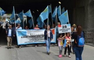 Sakaryalı Kırım Türkleri'nden Rusya Federasyonu'na...