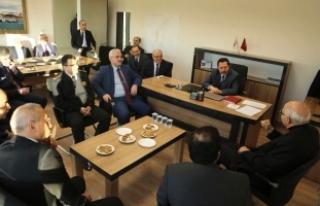 Vali Balkanlıoğlu Kaynarca İlçesinde Muhtarlar...