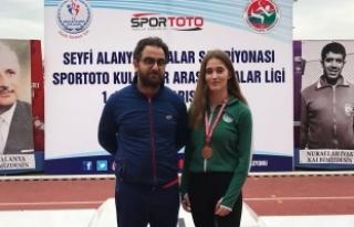 Atletizmcilerden Türkiye derecesi