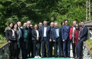 Toçoğlu Sabah Gazetesi yazarlarıyla buluştu Sakarya...